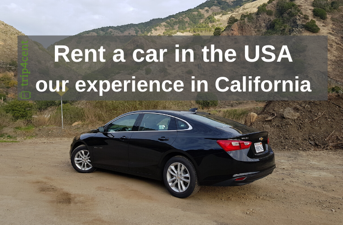 Rent a car in the USA