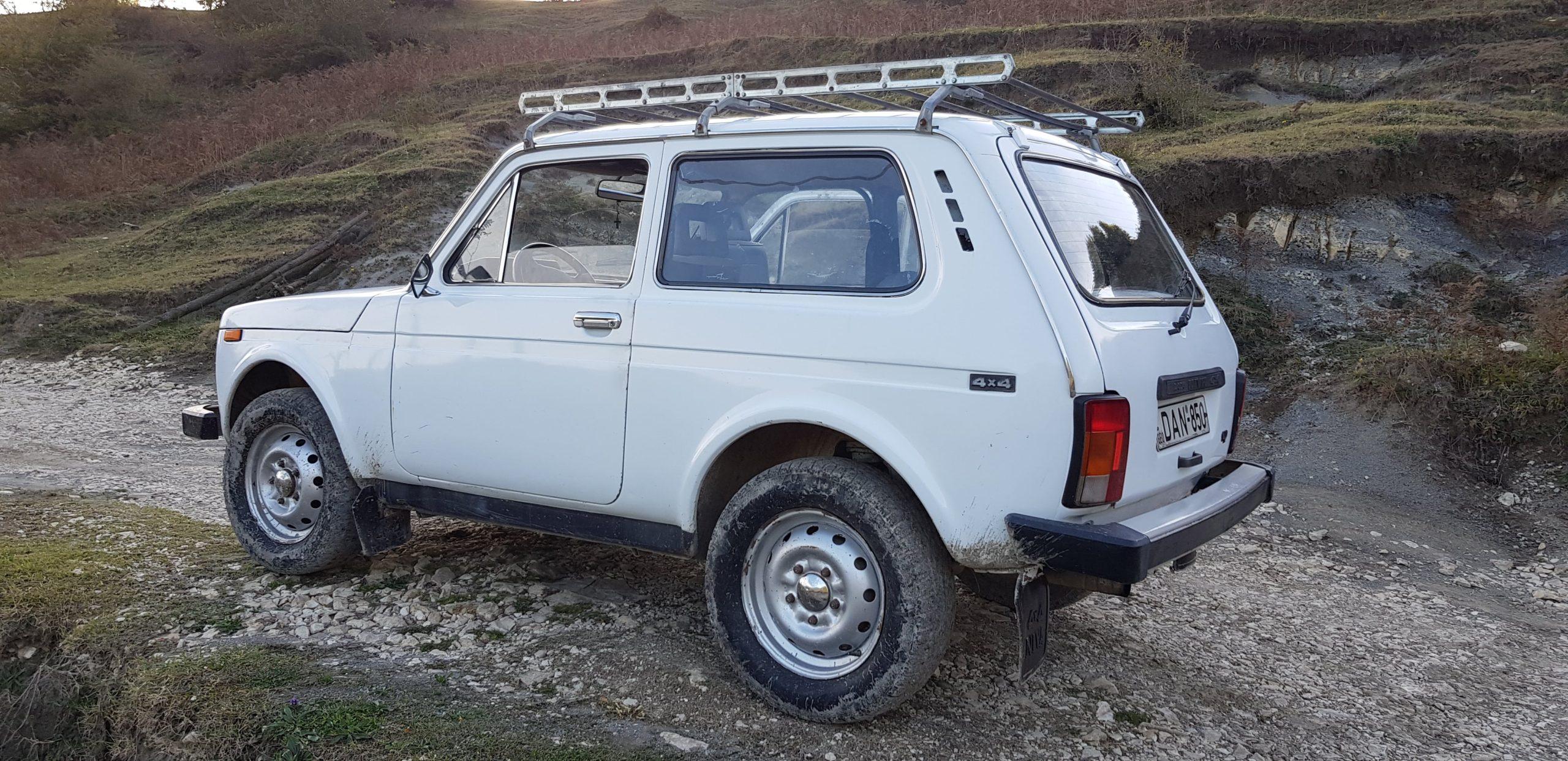 Local 4WD car in Georgia
